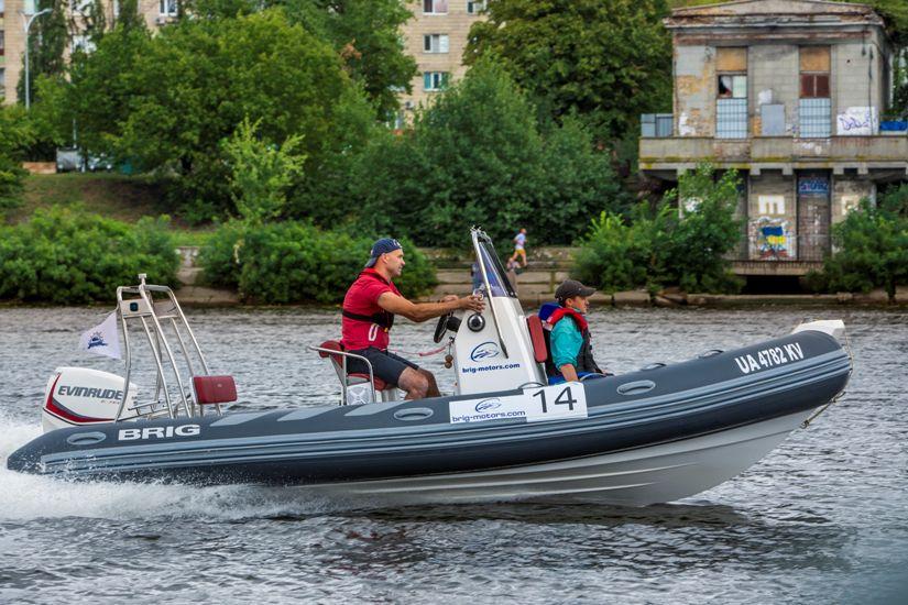 Лодка РИБ BRIG Navigator 570