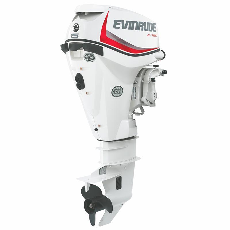 Подвесной лодочный мотор EvinrudeE-Tec E25 DRS
