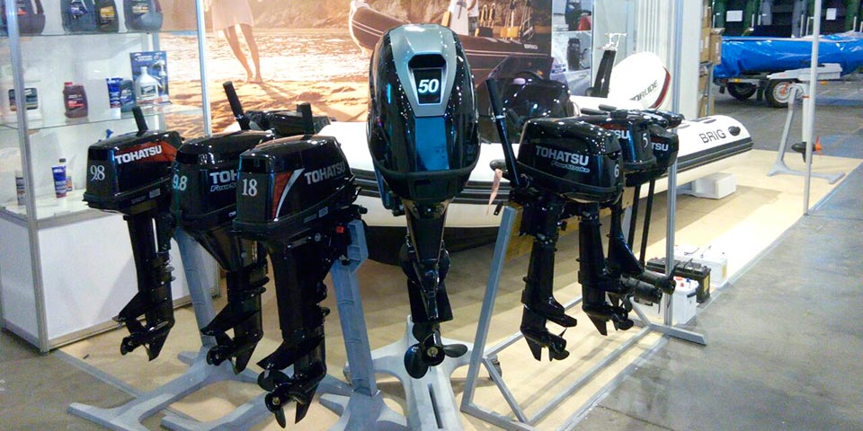 Четырехтактные подвесные моторы BRIG