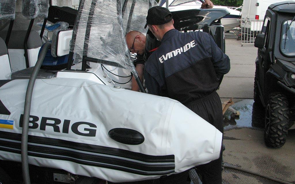 Подготовка техники Бриг Моторс