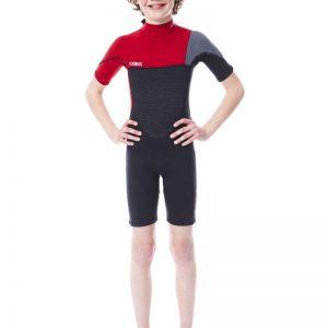 Гидрокостюм Boston Shorty 2MM Red для детей