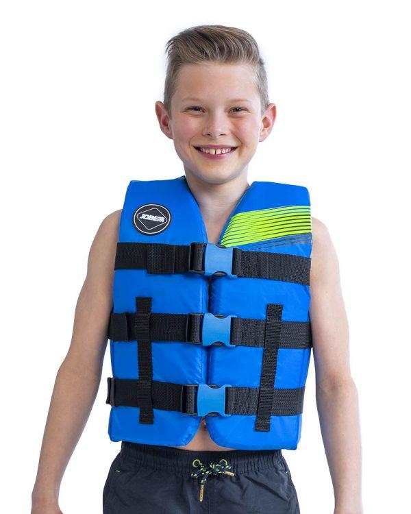 Страховочный детский жилет Nylon Vest Youth Blue модель 2020 года