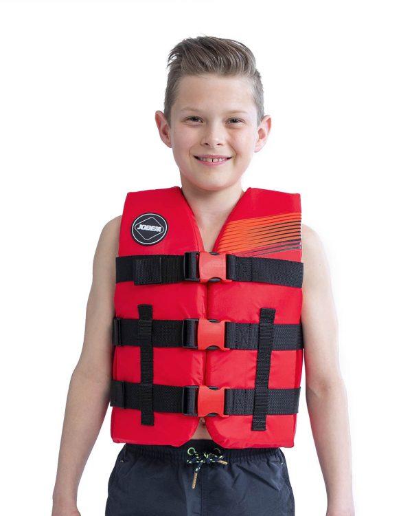 Страховочный детский жилет Nylon Vest Youth Red модель 2020 года