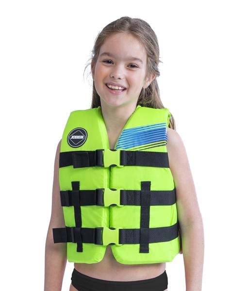 Страховочный детский жилет Nylon Vest Youth Lime Green