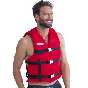 Страховочный универсальный жилет унисекс Universal Vest Red
