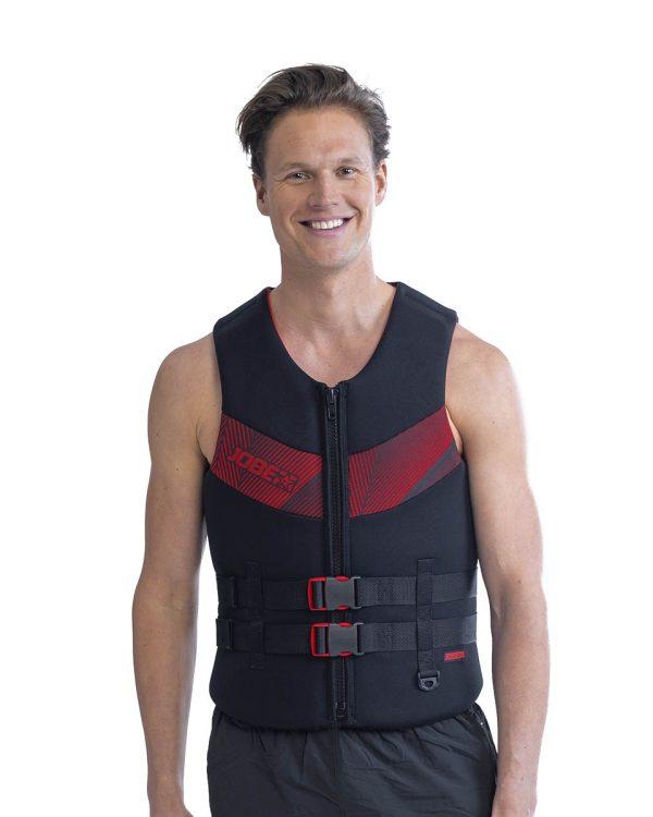 Страховочный жилет мужской Neoprene Vest Men Red