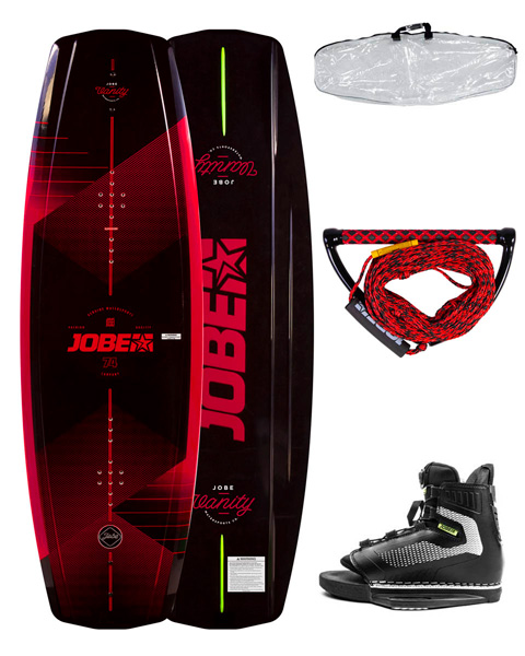 Комплект вейкборда Vanity Wakeboard 141 & Maze Bindings Package 2020 год