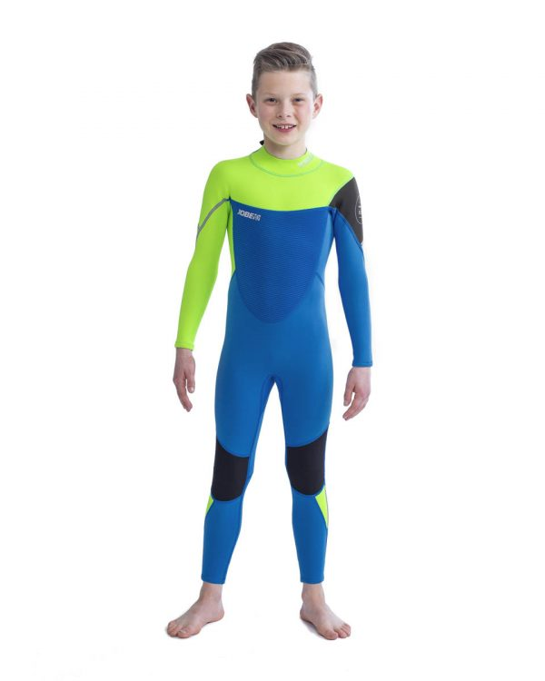 Детский гидрокостюм Boston Fullsuit 3 2MM Lime Blue