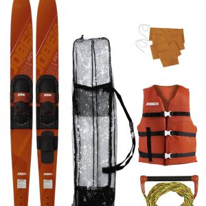 "Allegre 67"" Combo Skis Red Package"