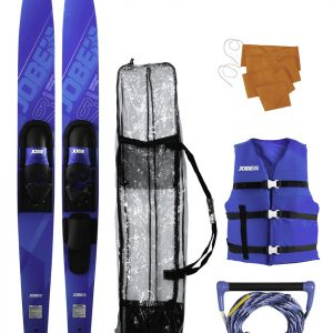 "Allegre 67"" Combo Skis Blue Package"